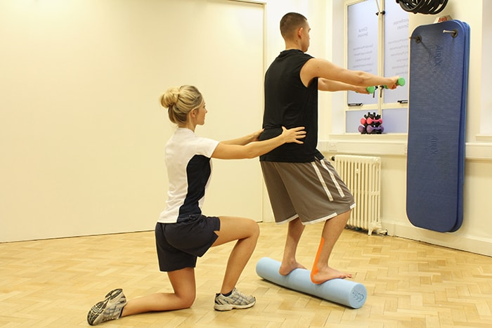 Balance and posture training in manchester clinic
