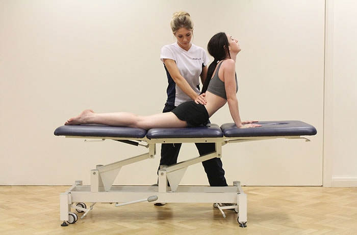 Massage for Increased flexibility on lower back in Manchester clinic