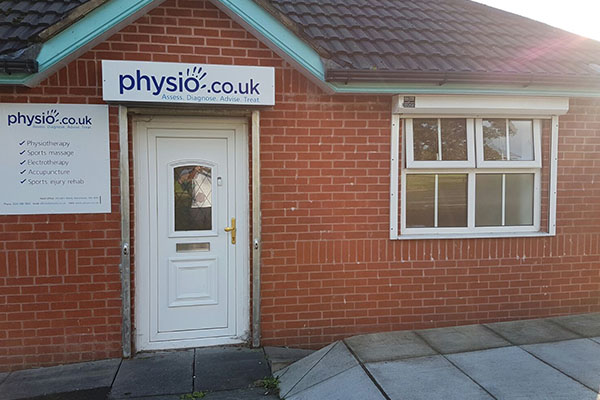 Exterior image of Manchester Physio Rochdale Clinic