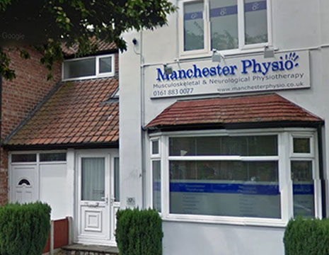 Exterior image of Manchester Physio Sale Clinic