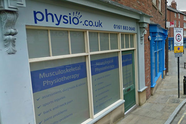 Exterior image of Manchester Physio Stockport Clinic