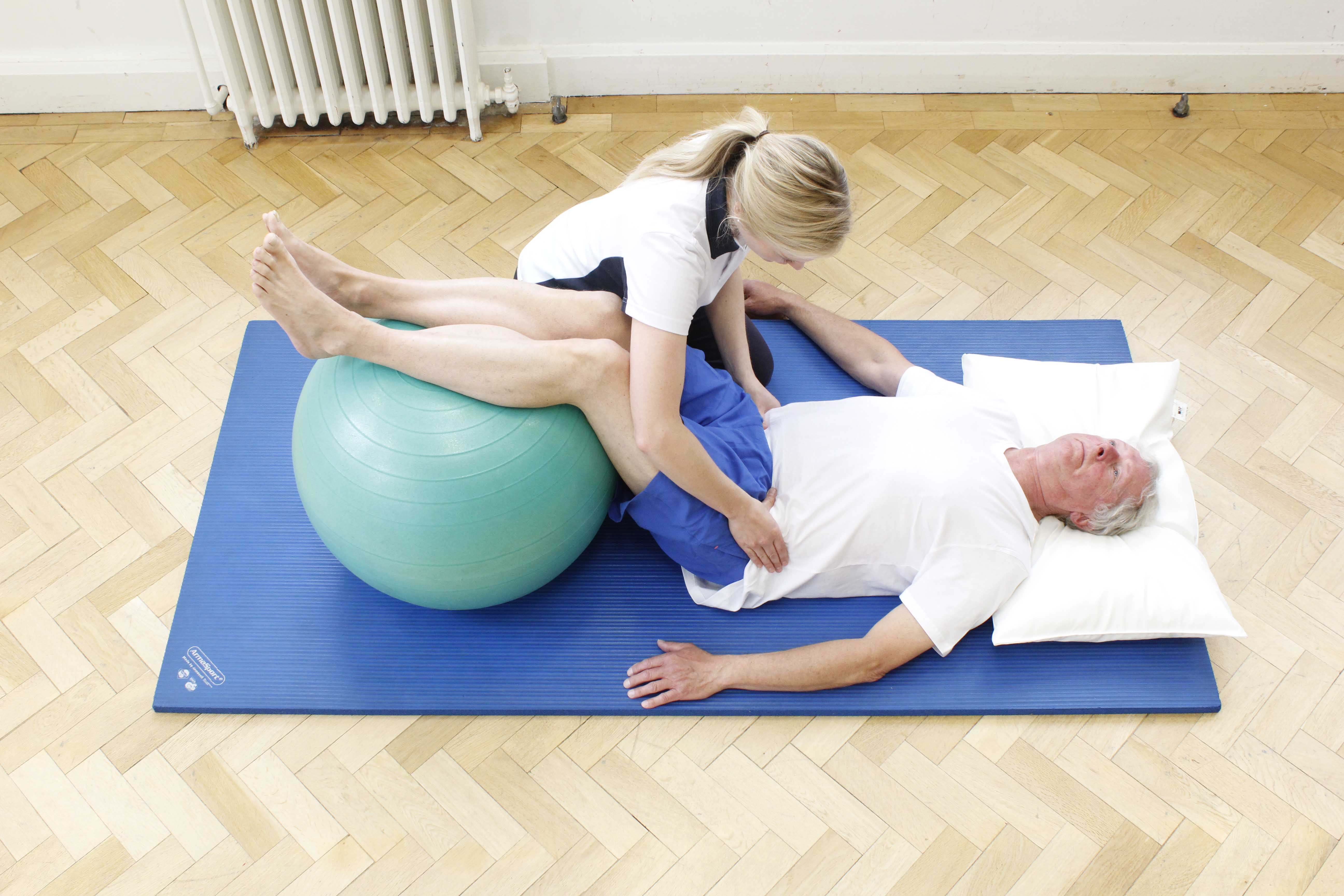 Bridging exercises to improve core stability, strength and posture