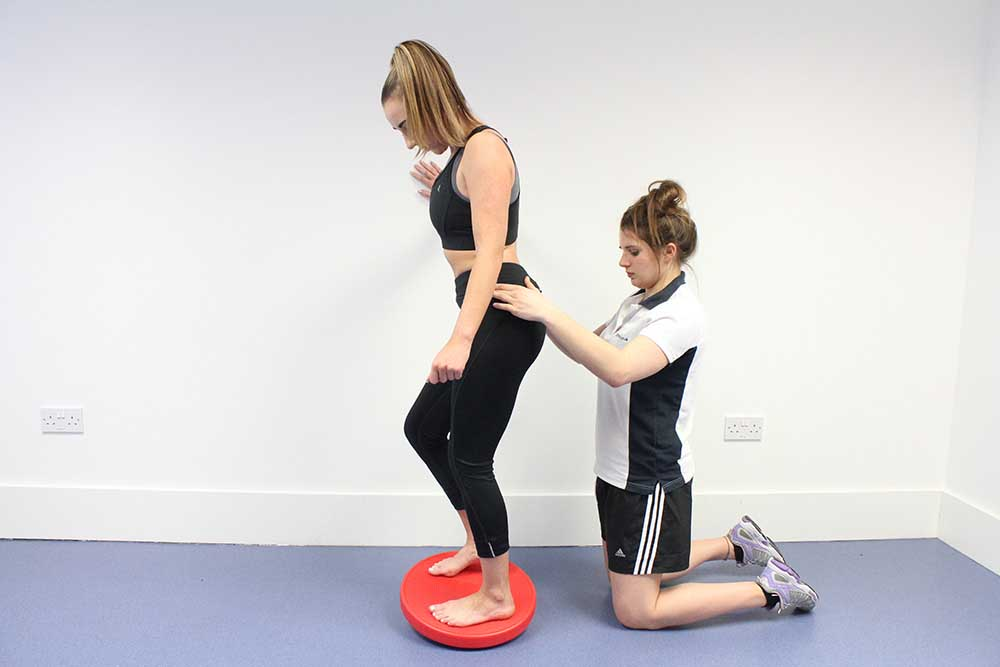 Developing balance and proprioception to prevent future falls