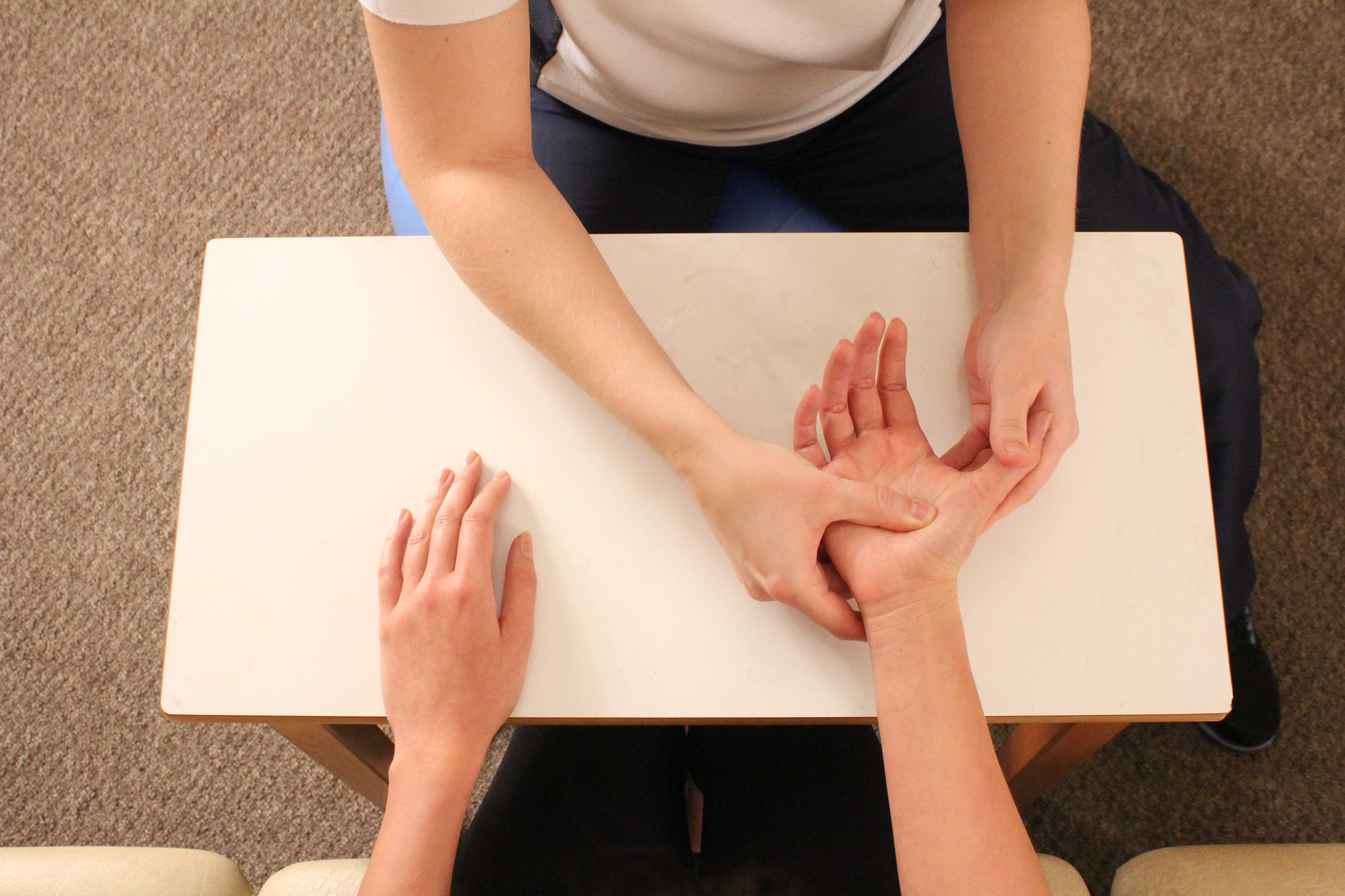 Specialist hand physiotherapy can help an individual regain strength and flexibility following a break.