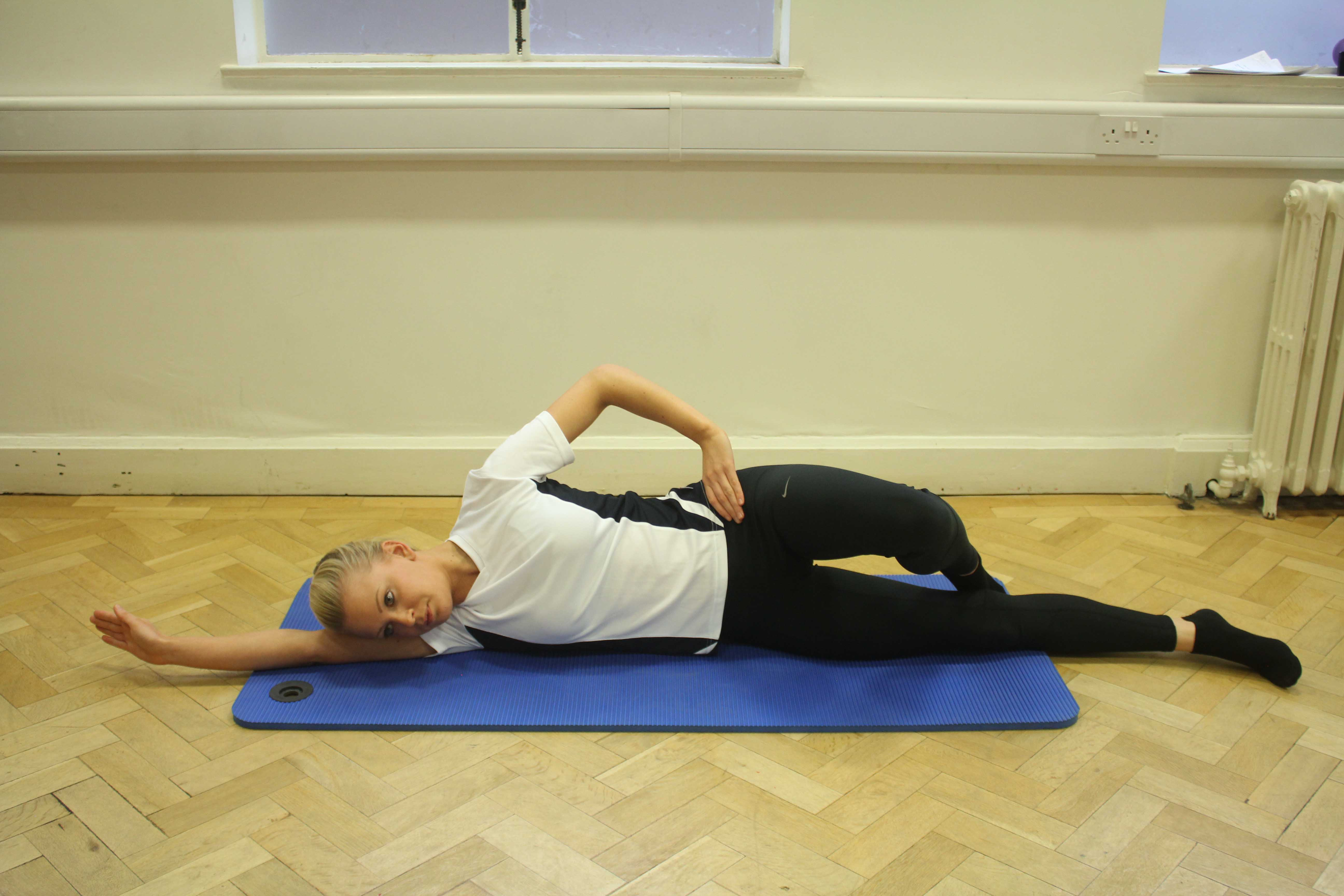 Pilates based exercise can help with gluteal buttock strains