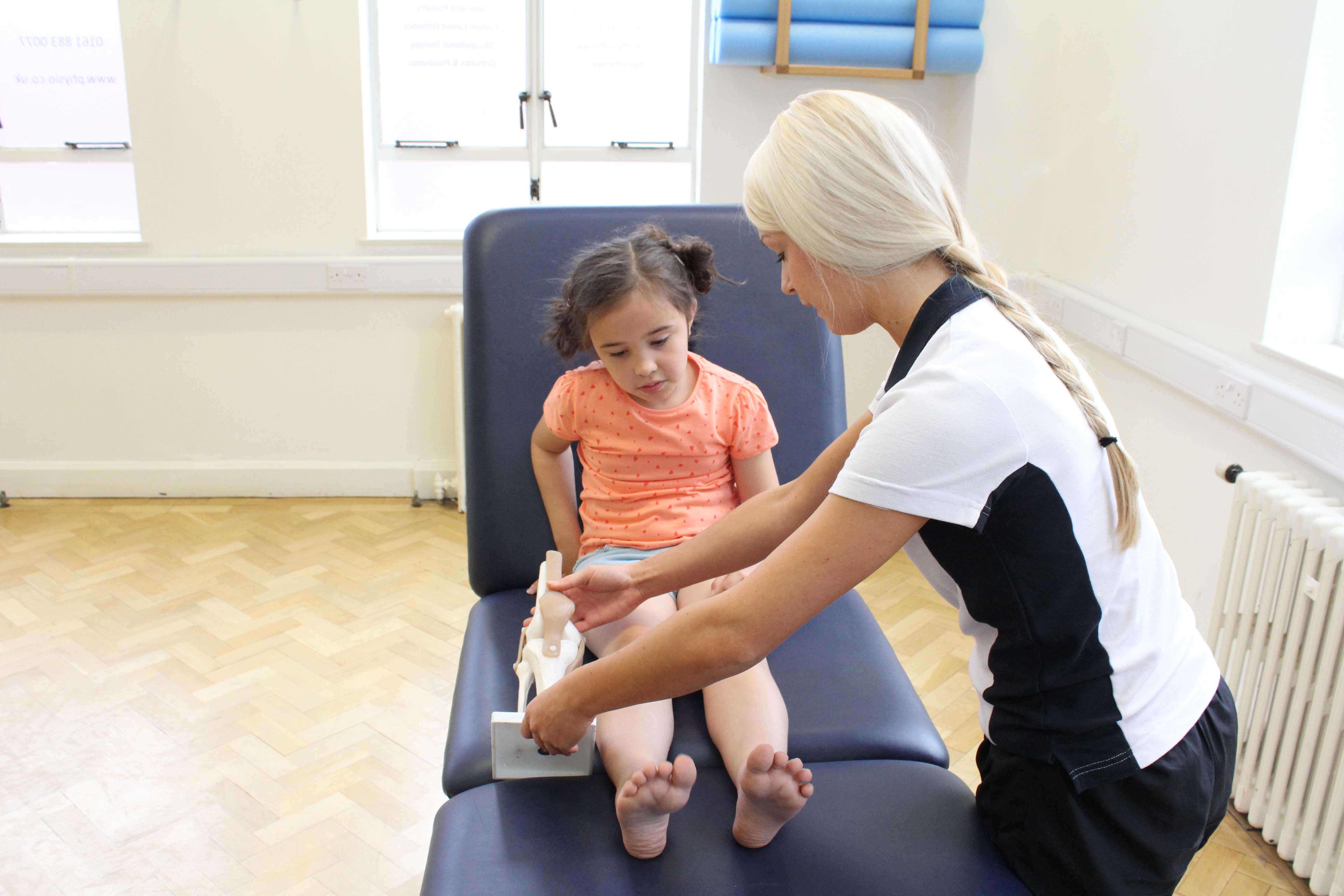Our physiotherapists can help explain why your child may be experiencing specific symptoms.