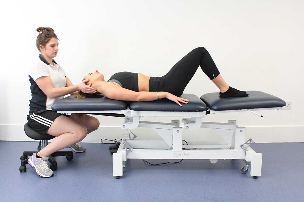 Vestibular rehabilitation exercises conducted by a specialist physiotherapist