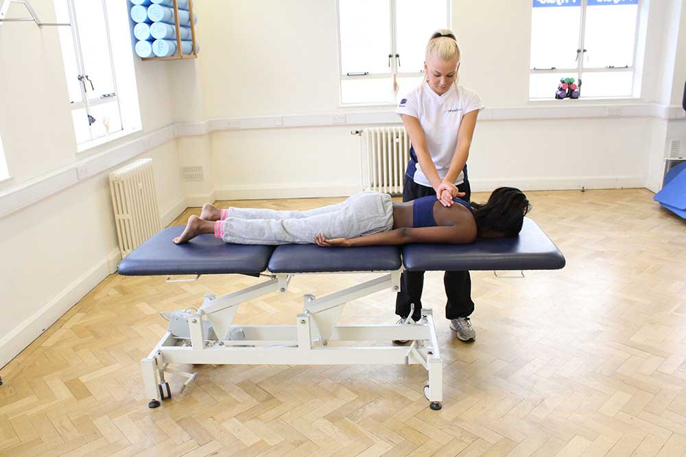 Our physiotherapists can provide a variety of manual therapy techniqes including mobalisations to areas causing discomfort.