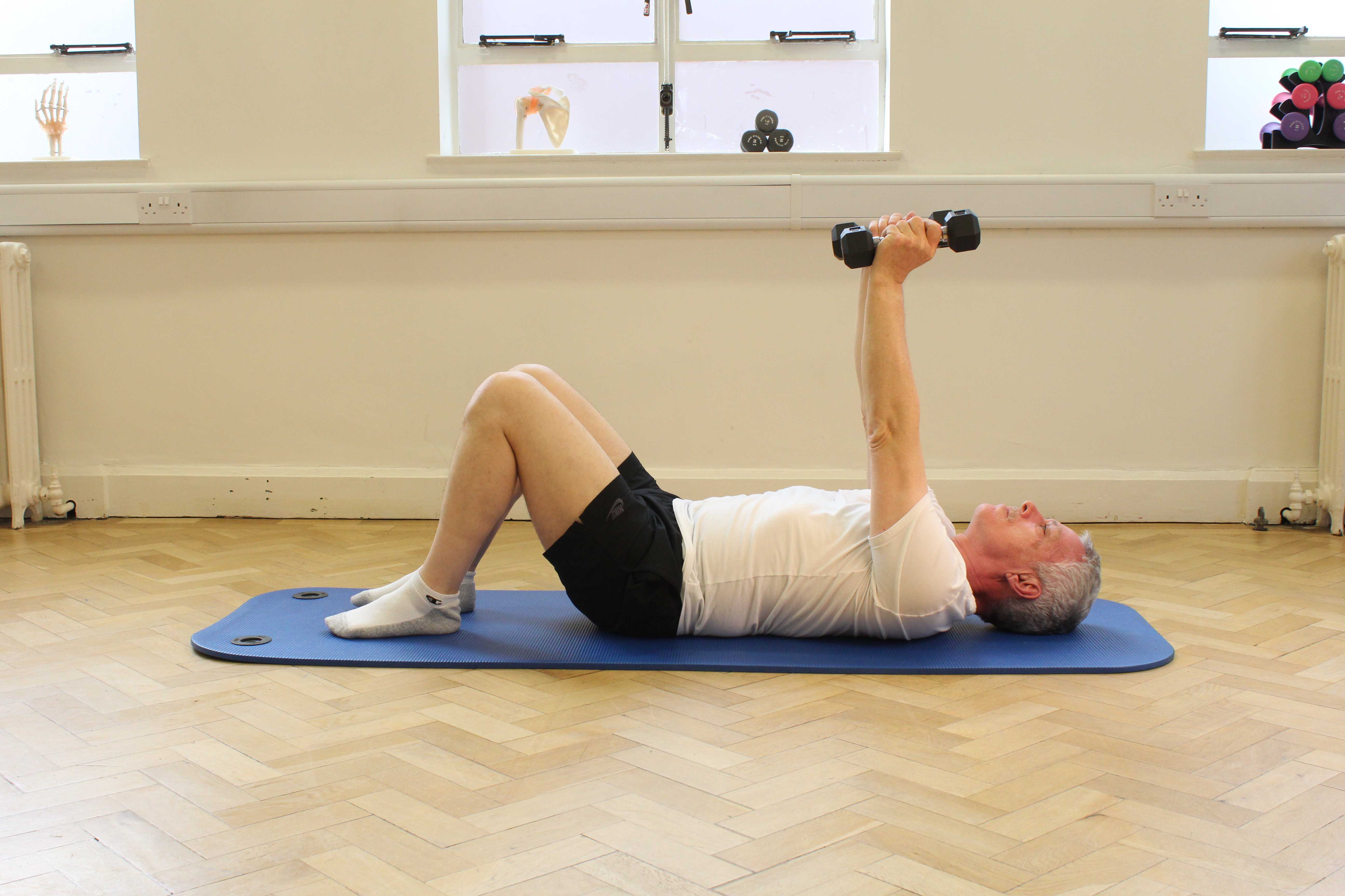 Following diagnosis of MND, patients are encouraged to maitain muscle strength through gentle exercise.