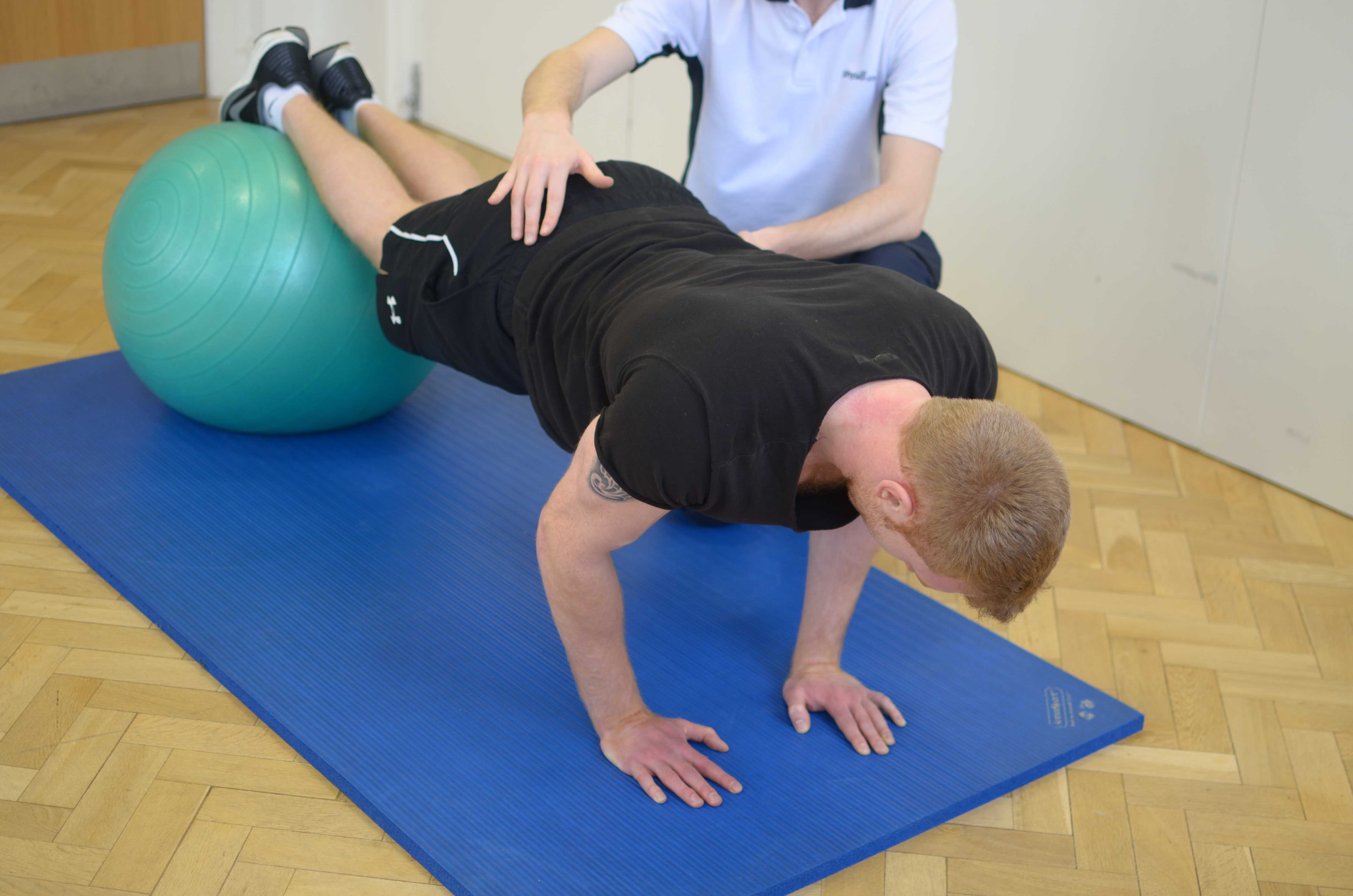 Rehabilitation following lower back vertebral fusion