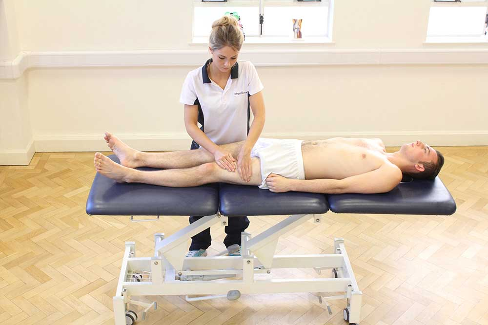 Soft tissue massage is used post surgery to disperse excess swelling from the wound site