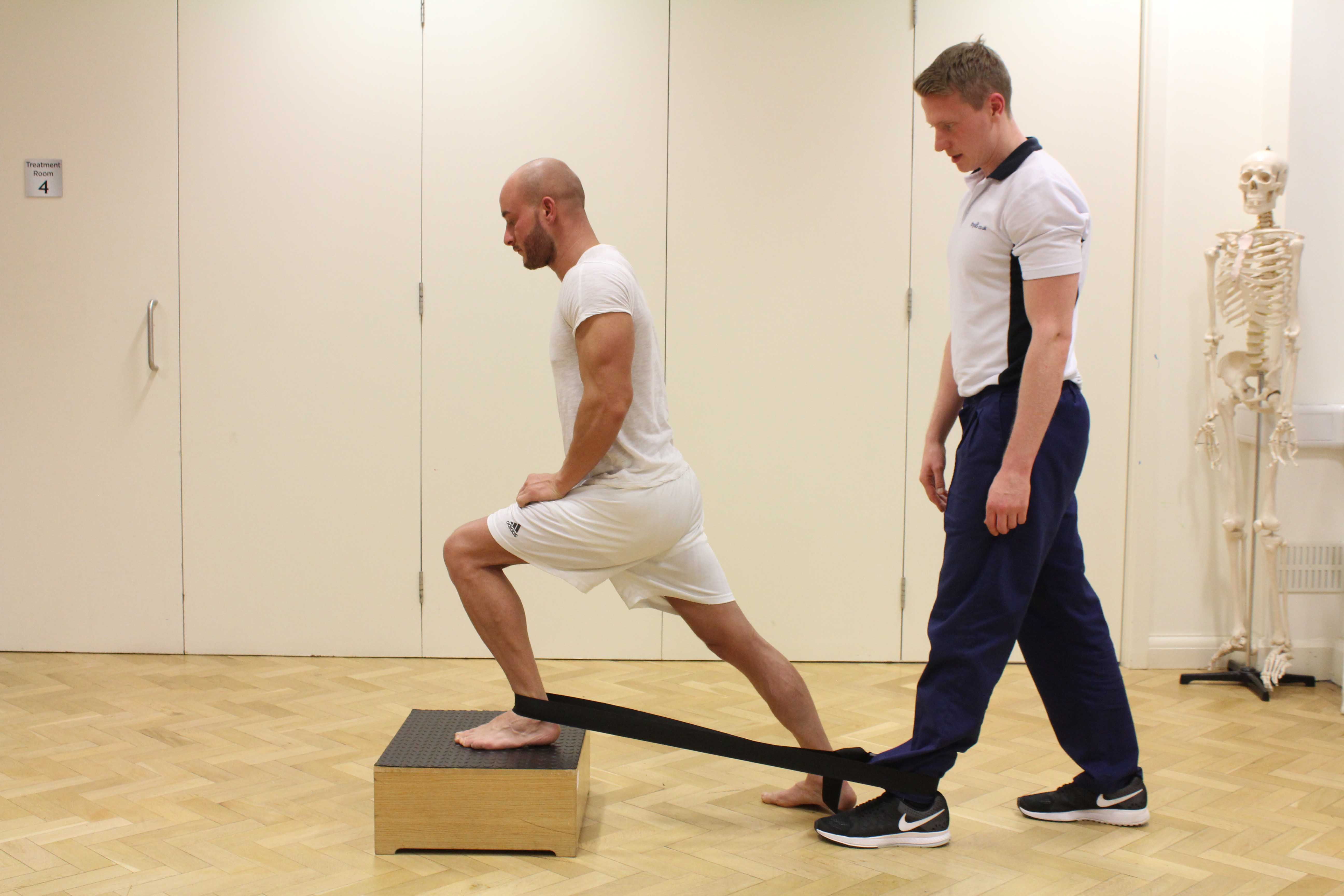 Balance and co-ordination exercises using island blocks
