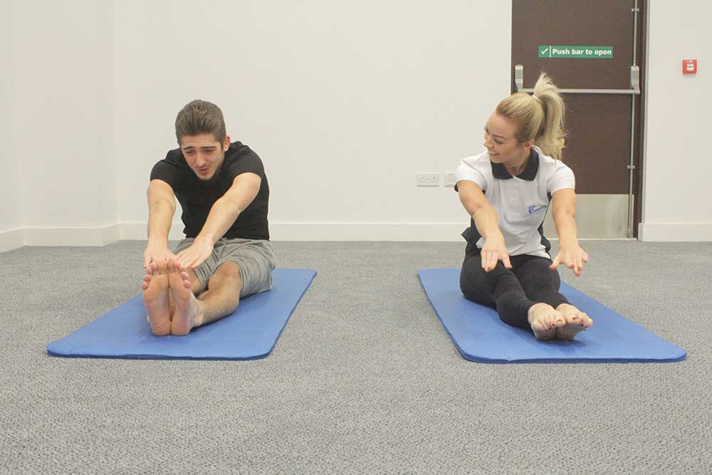 Stretching can help reduce the likelihood of injury occuring