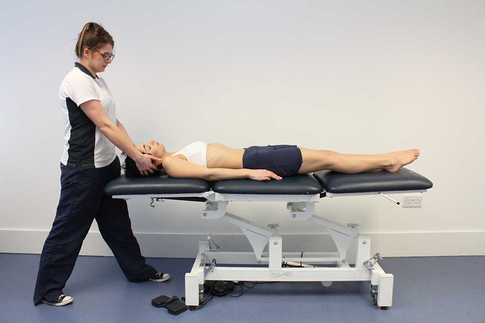 Vestibular physiotherapy - passive resetting exercises